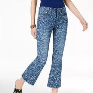 NWT Michael Michael Kors Jeans Petite 0P Blue